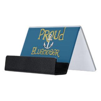Proud Bluenoser Nova Scotia anchor  card holder