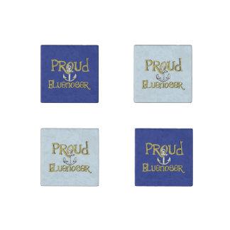 Proud Bluenoser Nova Scotia anchor  fridge magnets