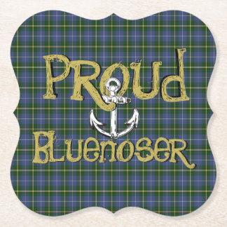Proud Bluenoser Nova Scotia anchor paper coaster
