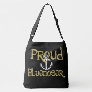 Proud Bluenoser Nova Scotia anchor shoulder bag