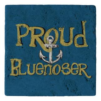 Proud Bluenoser Nova Scotia anchor stone trivet