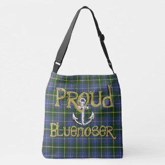 Proud Bluenoser Nova Scotia tartan shoulder bag