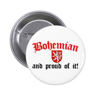 Proud Bohemian 6 Cm Round Badge