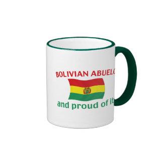 Proud Bolivian Abuelo Ringer Mug