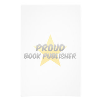 Proud Book Publisher Stationery Design