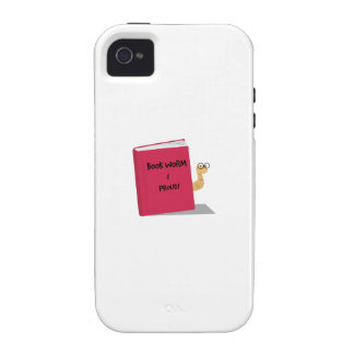 Proud Book Worm Vibe iPhone 4 Case