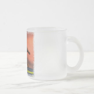 Proud Boricua!!! Frosted Glass Coffee Mug