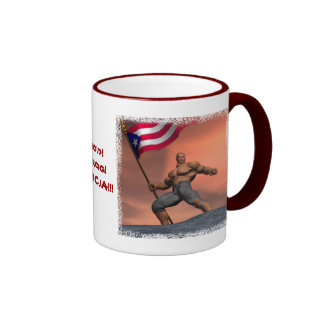 Proud Boricua!!! Ringer Coffee Mug