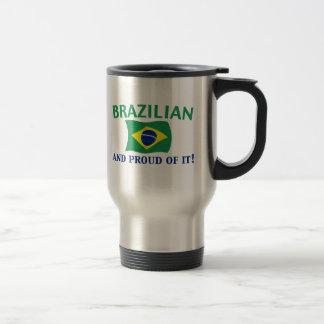 Proud Brazilian Travel Mug