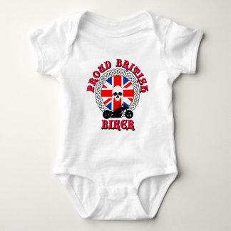 Proud British Biker Baby Bodysuit
