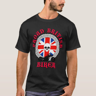 Proud British Biker T-Shirt