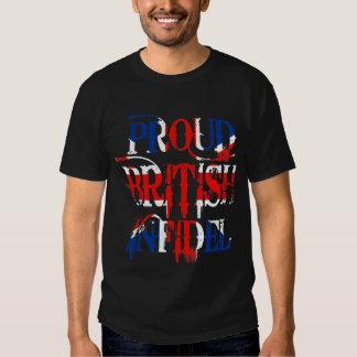 Proud British Infidel Tshirt
