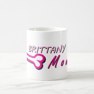 Proud Brittany Momma Bone Coffee Mug