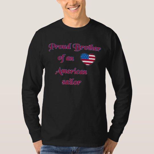 Proud-Brother-Sailor-Navy-A-transp T-Shirt