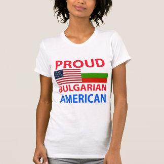 Proud Bulgarian American Tshirt