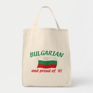 Proud Bulgarian Tote Bag