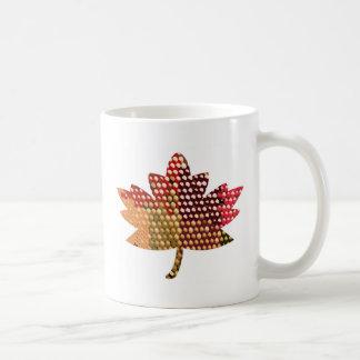 Proud CANADIAN :  Artistic MAPLE Leaf Design Coffee Mugs