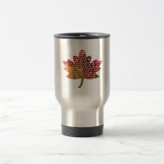 Proud CANADIAN :  Artistic MAPLE Leaf Design Mug