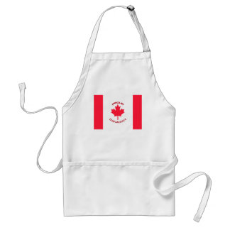 Proud Canadian Standard Apron