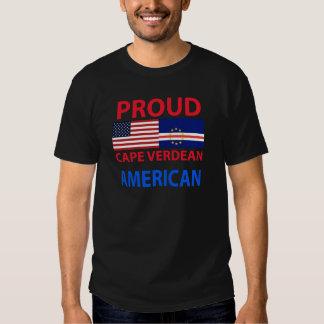 Proud Cape Verdean American T Shirts