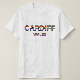 Proud Cardiff, Wales T-Shirt