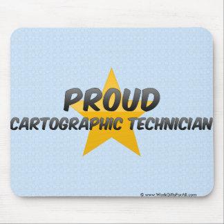 Proud Cartographic Technician Mouse Pad