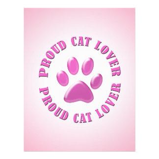 Proud Cat Lover 21.5 Cm X 28 Cm Flyer