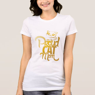 proud cat mom T-Shirt