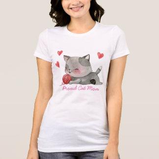 proud cat mum T-Shirt