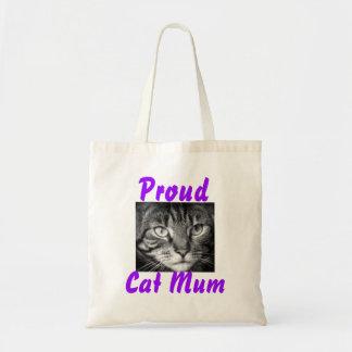 Proud Cat Mum Tote Bag