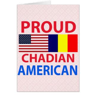 Proud Chadian American Card