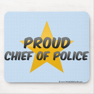Proud Chief Of Police Mouse Mat