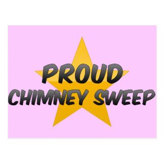 Proud Chimney Sweep Postcard