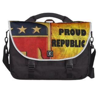 PROUD CHRISTIAN, PROUD REPUBLICAN BAGS FOR LAPTOP