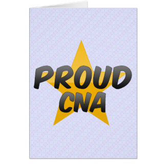 Proud Cna Greeting Cards