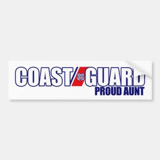 Proud Coast Guard Aunt Bumper Sticker