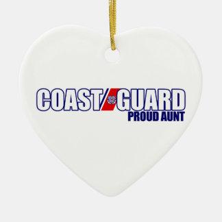 Proud Coast Guard Aunt Christmas Ornament