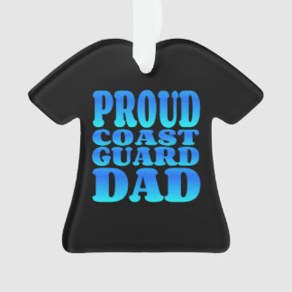 Proud Coast Guard Dad in Blue
