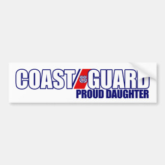 Proud Coast Guard Daughter Bumper Sticker