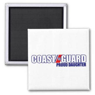 Proud Coast Guard Daughter Fridge Magnet