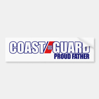 Proud Coast Guard Father Bumper Sticker