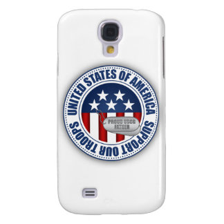 Proud Coast Guard Father Galaxy S4 Case