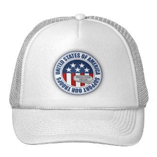 Proud Coast Guard Father Mesh Hats