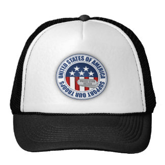 Proud Coast Guard Father Mesh Hat