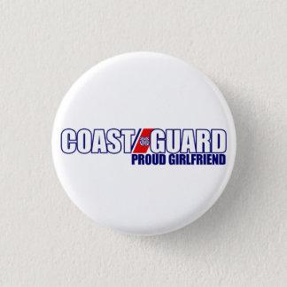 Proud Coast Guard Girlfriend 3 Cm Round Badge