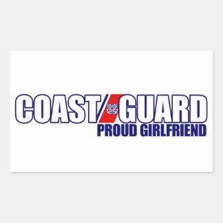 Proud Coast Guard Girlfriend Stickers