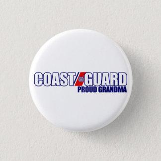 Proud Coast Guard Grandma 3 Cm Round Badge