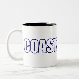 Proud Coast Guard Grandma Two-Tone Coffee Mug