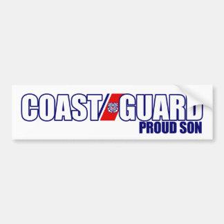 Proud Coast Guard Son Bumper Sticker