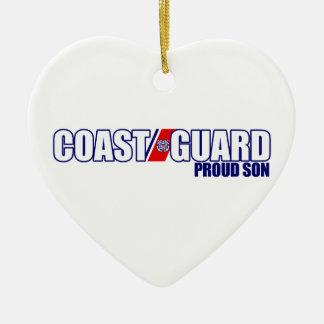 Proud Coast Guard Son Christmas Ornament